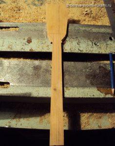 деревянная лопатка для кухни своими руками