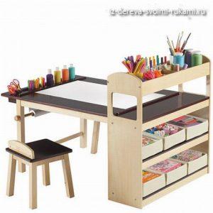 детский рабочий стол