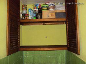 как сделать встроенный шкафчик в туалет своими руками