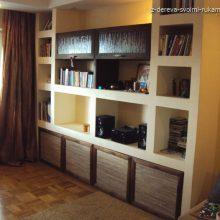 Встроенная мебель для гостиной своими руками