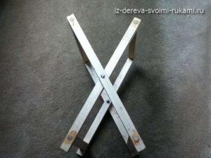 как сделать самодельный раскладной стул-табурет