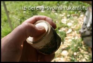 как сделать деревянную кружку своими руками