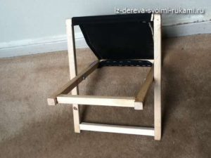 складной стул-табурет своими руками