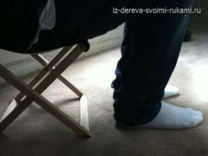 как сделать складной стул-табурет своими руками