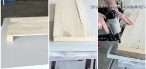 изготовление деревянного ящика для белья