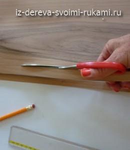 как сделать абажур из шпона своими руками
