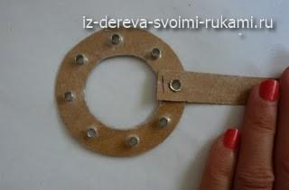 как сделать абажур своими руками из шпона дерева