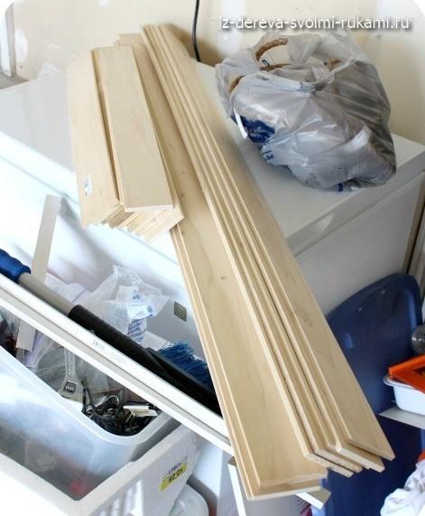 как сделать деревянный ящик для хранения белья своими руками