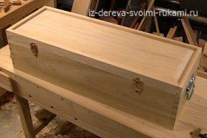 как сделать деревянный ящик для инструментов своими руками