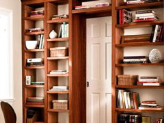 Как сделать деревянный стеллаж для книг своими руками