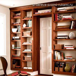 как сделать стеллаж для книг своими руками из дерева