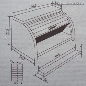 как сделать деревянную хлебницу своими руками