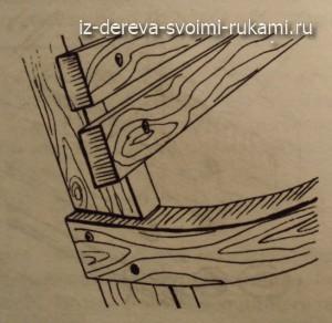 качели для дачи из дерева своими руками