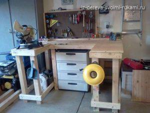оборудоване рабочего места в мастерской