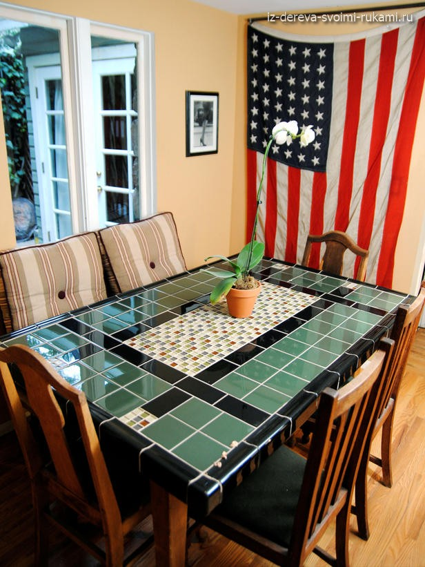 Стол сделанный американским мастером