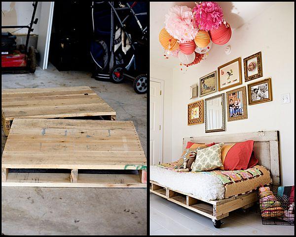 диван из деревянных поддонов своими руками