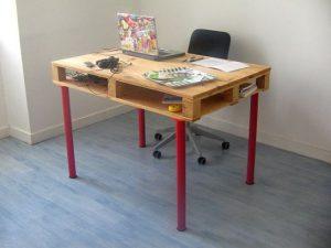 компьютерный стол из поддонов своими руками