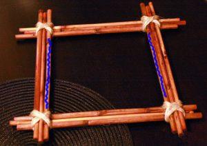как сделать рамку для фото из бамбука своими руками