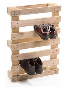 подставка для обуви из деревянного поддона своими руками
