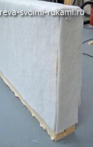 изготовление дивана своими руками