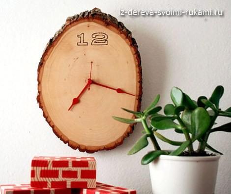 как сделать деревянные настенные часы своими руками