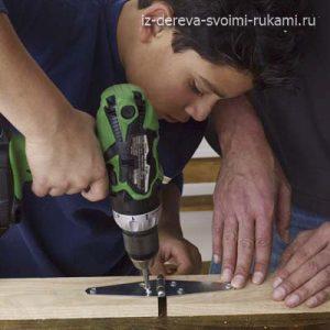 как сделать мольберт для детей своими руками
