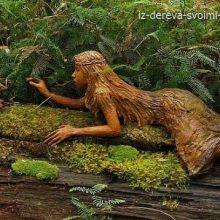 Сказочный лес скульптур Бруно Торфса