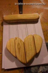 как сделать деревянные колокольчики Музыка ветра