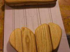 """Как сделать деревянные колокольчики """"Музыка ветра"""""""