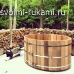 деревянная купель своими руками