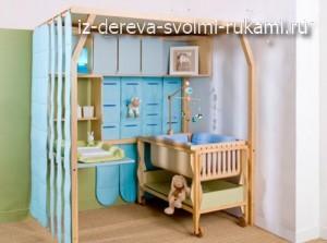 детский уголок в квартире, обустройство