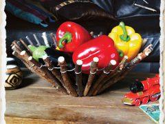 Как сделать конфетницу (вазу для фруктов) своими руками