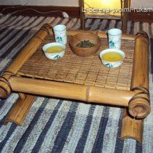 Как сделать чайный столик Чабань из бамбука своими руками
