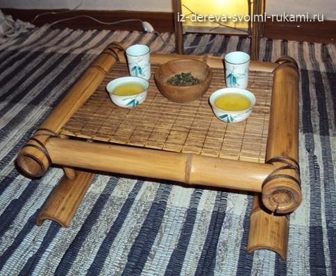 чайный столик чабань своими руками