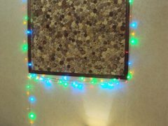 Деревянное панно с подсветкой на стену своими руками