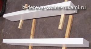 как сделать деревянные полки на стену своими руками