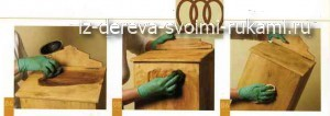 вощение древесины своими руками