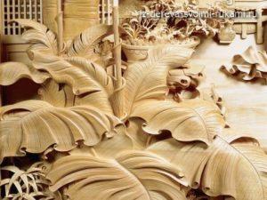 китайская художественная резьба по дереву, фото