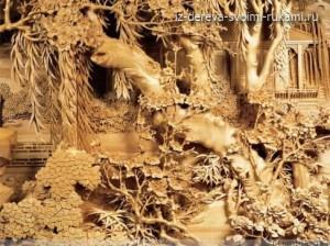 китайские мастера резьбы по дереву фото