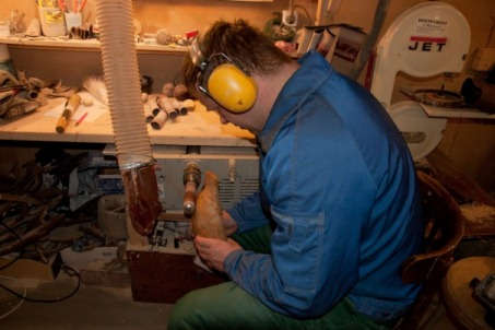 реставрация деревяннорй посуды