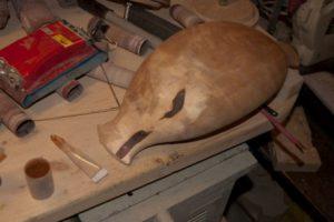 реставрация деревянной посуды