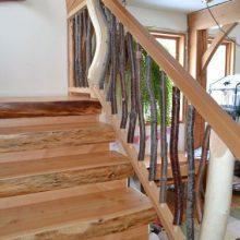 Деревянные перила для лестницы своими руками