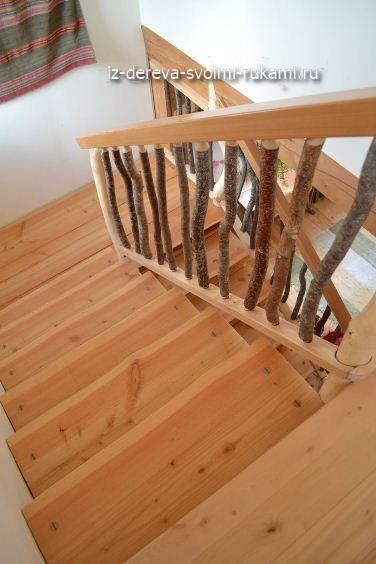 деревянные ограждения для лестниц своими руками