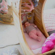 Как сделать детскую кровать Месяц своими руками
