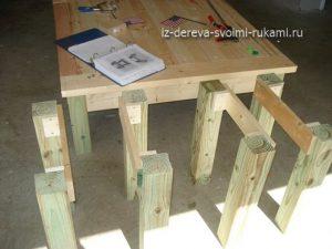 мебель из дерева своими руками, столик