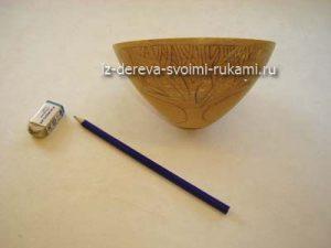 деревянная вазочка своими руками