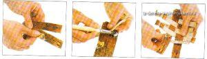 как сделать панно из бересты своими руками