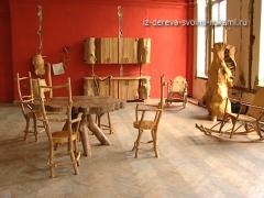 Необычная мебель из дерева и коряг. Авторская мебель Константина Кузнецова