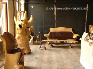 авторская мебель из дерева мастера Константина Кузнецова