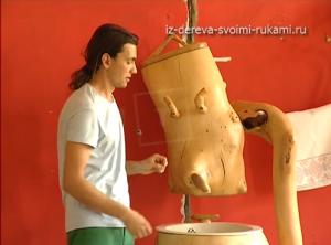 авторская мебель из дерева и коряг фото